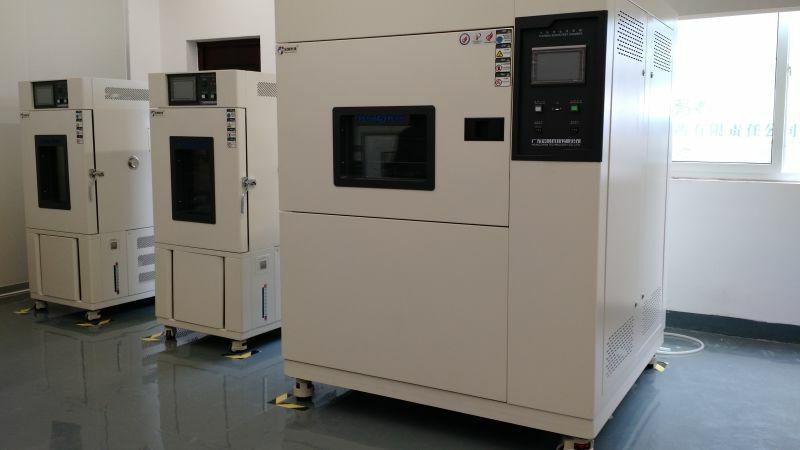 可程式高低温交变湿热试验箱在测试期间遇到状况怎样处理
